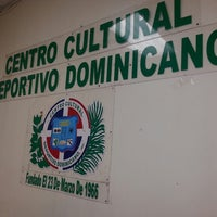 Photo taken at Deportivo Dominicano Centro Cultural by Joel D. on 6/7/2014