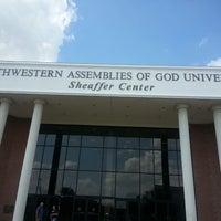 Photo taken at Southwestern Assemblies of God University (SAGU) by Gabriella Z. on 6/17/2014
