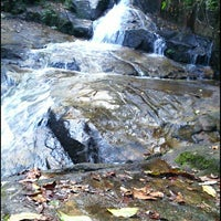 Photo taken at Ton Chong Fah Waterfall by Alia G. on 12/30/2014