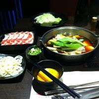 Photo taken at 魯山人和風壽喜鍋物 by Abraham C. on 9/20/2013