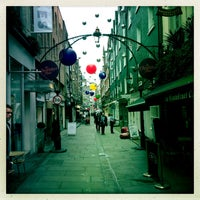 Photo taken at St Christopher's Place by Yasha M. on 1/9/2013