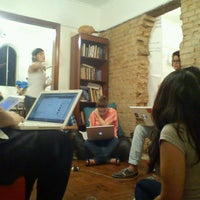 Photo taken at Casa da Cultura Digital by Anderson o. on 4/2/2013