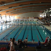 Photo taken at Stadio Del Nuoto by Roberto T. on 3/22/2013
