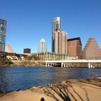Photo taken at Lady Bird Lake Trail by Sivani R. on 1/31/2013