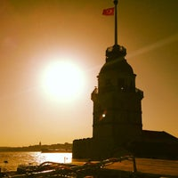 Photo taken at Maiden's Tower by Ömer B. on 6/23/2013