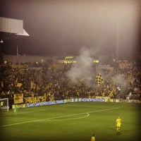 Photo taken at MAPFRE Stadium by Sara Marie B. on 9/30/2012