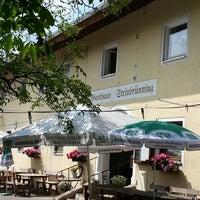 Photo taken at Gasthaus Steinbrünning by Mar T. on 7/7/2013