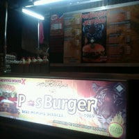 Photo taken at Pos Burger by alang a. on 3/24/2013