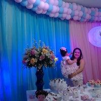 Photo taken at Brincadeiro buffet by Karina R. on 10/13/2013