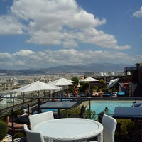 Photo taken at Novotel Hotel Athens by Helga J. on 8/2/2013