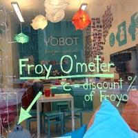 Photo taken at Yobot Frozen Yogurt by Petri A. on 3/8/2013