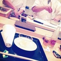 Photo taken at sushi榮 by Rina K. on 2/2/2013