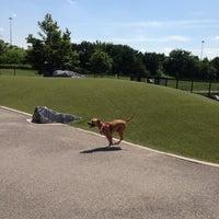 Photo taken at Locust Point Dog Park by Brittany W. on 6/15/2013
