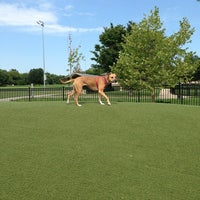 Photo taken at Locust Point Dog Park by Brittany W. on 7/25/2013