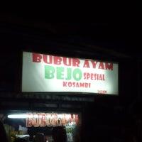 Photo taken at Bubur Ayam Special BEJO by aditya p. on 12/13/2014