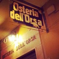 Foto scattata a Osteria dell'Orsa da Frederico B. il 12/9/2012