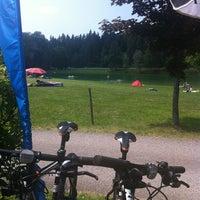 Photo taken at Sonnegger See by Hildegard M. on 6/16/2013
