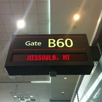 Photo taken at Gate B60 by Angel W. on 2/20/2013