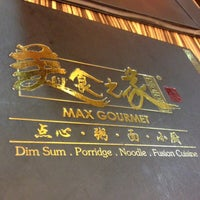 Photo taken at Max Gourmet 美食之家 by Penny L. on 10/14/2012