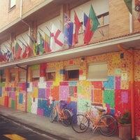 Photo taken at Hostel Pisa by Caner G. on 6/3/2013