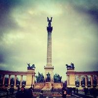 1/1/2013 tarihinde Caner G.ziyaretçi tarafından Hősök Tere | Heroes Square'de çekilen fotoğraf