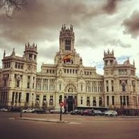 Foto tirada no(a) Palacio de Cibeles por Caner G. em 4/2/2013