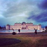 1/3/2013 tarihinde Caner G.ziyaretçi tarafından Oberes Belvedere'de çekilen fotoğraf
