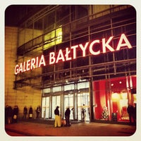 Photo taken at Galeria Bałtycka by Caner G. on 11/18/2012