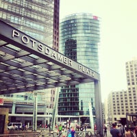 Photo taken at Potsdamer Platz by Caner G. on 7/10/2013