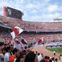 "Photo taken at Estadio Antonio Vespucio Liberti ""Monumental"" (Club Atlético River Plate) by Emiliano C. on 10/28/2012"