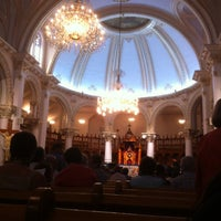 Photo taken at Cathedrale De St-hyacinthe by Julie C. on 5/4/2013