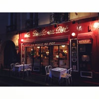 Photo taken at La Poule Au Pot by Jonna K. on 6/28/2014