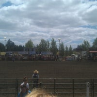Photo taken at Vancouver Rodeo by Robert L. on 7/4/2013