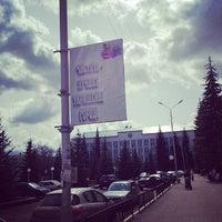 Photo taken at Площадь Незалежности им. В. И. Ленина by Борислав В. on 5/7/2014