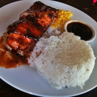 Photo taken at Lyndon's Worst Ribs & Awful Chicken by Ceejay d. on 6/9/2013