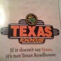 Photo taken at Texas Roadhouse by Alma G. on 11/9/2012