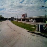 Photo taken at Estación Ferroautomotora de Mar del Plata by Fran G. on 1/30/2013
