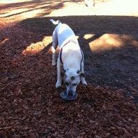 Photo taken at Happy Valley Dog Park by Joy J. on 1/17/2013