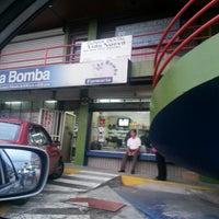 Photo taken at Farmacia La Bomba by Evel A. on 11/17/2012