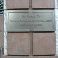 Photo taken at California Environmental Protection Agency (Cal/EPA) Headquarters Building by Lokesh B. on 11/27/2012