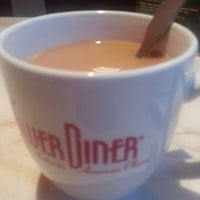 Photo taken at Silver Diner by David S. on 10/6/2012
