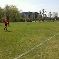 Photo taken at Voetbalveld Malehoek by Gianni N. on 5/1/2013