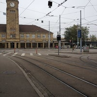 Photo taken at Basel Baden Railway Station by Shinsuke N. on 10/11/2012