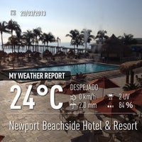 Photo taken at Newport Beachside Hotel & Resort by Kerrwitg P. on 3/20/2013