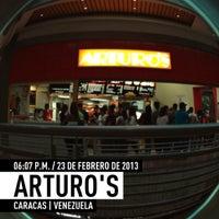 Photo taken at Arturo's by Kerrwitg P. on 2/23/2013