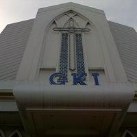 Photo taken at GKI Samanhudi by Wirawan W. on 12/23/2012