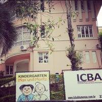 Photo taken at ICBA - Instituto Cultural Brasil Alemanha by Felipe S. on 10/6/2012