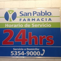 Photo taken at Farmacia San Pablo by Aiban N. on 10/12/2012