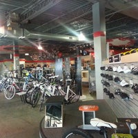 Photo taken at Revolution Cycles by Joanna L. on 1/5/2013