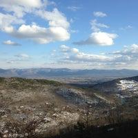 Photo taken at Massanutten Scenic Outlook by Genny on 3/27/2013